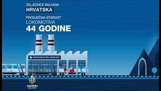 Željeznice Hrvatske podijeljene su na tri kompanije, na osnovu sektora o kojima brinu. Tako su od nekad jedinstvene kompanije...