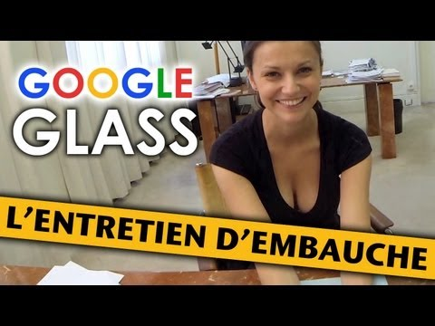 使用Google眼鏡面試爆乳妹的技巧,太專業啦!