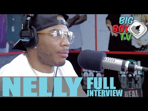 Nelly Talks About The St. Louis Rams, Shantel Jackson, And More! (Full Interview)   BigBoyTV