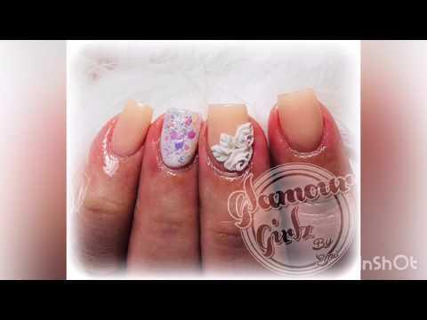 Diseños de uñas en 3D facil y rapido