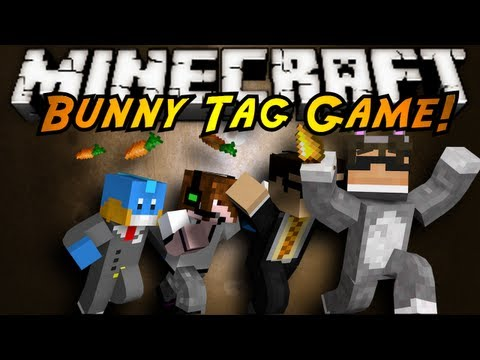 bunny - CHASE THE BUNNY! CAPTURE HIM AND KILL HIM IN 5 MINUTES AND YOU WIN! BUT IF HE ESCAPES YOU THEN HE WINS! JOIN SKY, DEADLOX, BODIL40 AND THE MUDKIP AS THEY TRY...