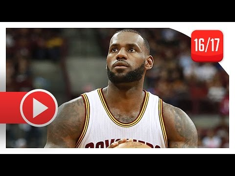 LeBron James Full PS Highlights vs Wizards (2016.10.18) - 18 Pts, SICK 1st Half!