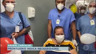 Prontuário afetivo tem alegrado pacientes do Hospital Amaral Carvalho em Jaú