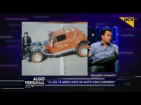 video René de la Vega relata la historia de su mítico auto con cuernos