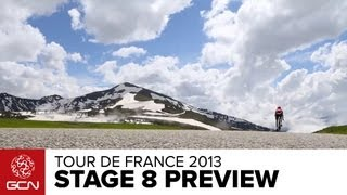 Tour De France 2013 - Stage 8 Detailed Insights