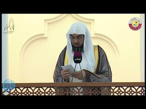 خطبة الجمعة بجامع الامام للشيخ/ محمد حسن المريخي يوم الجمعة 7 رمضان 1438 هجريا