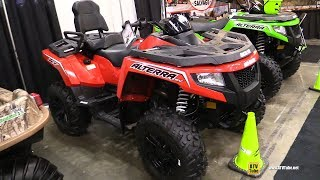 1. 2017 Arctic Cat Alterra TRV 700 XT Recreational ATV - Walkaround - 2017 Toronto Snowmobile ATV Show