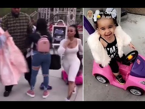 Girl who SLAPPED Blac Chyna at Six Flags speaks out! + LIVE FOOTAGE!!!