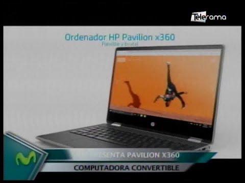 Hp presenta Pavilion X360 computador convertible