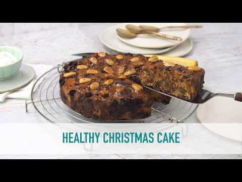 Healthy Christmas cake thumbnail 2