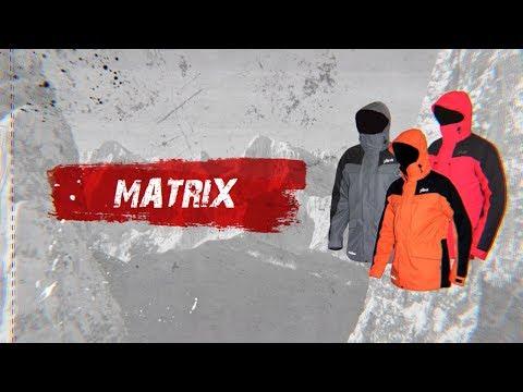Відео демонстрація мембранної куртки Matrix