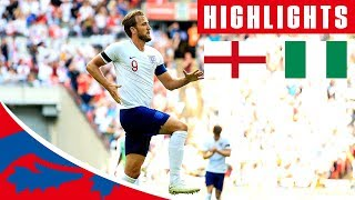 Highlights -  England 2 - 1 Nigeria