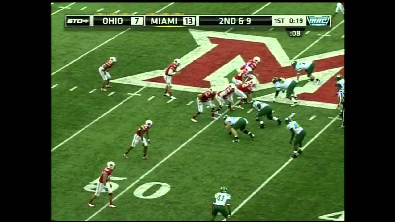 Zac Dysert vs Ohio (2012)