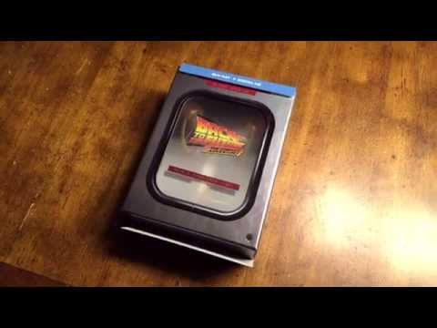 Back To The Future 2015 Trilogy Blueray Flux Capacitor Box Set - UNBOXING