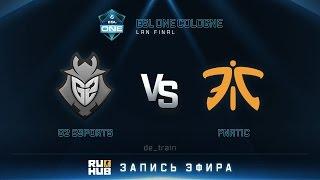 G2 vs fnatic, game 1