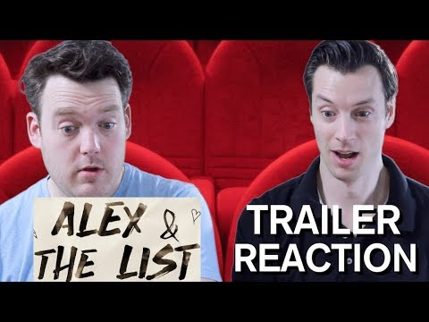 Alex and the List - Trailer Reaction
