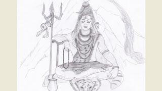Drawing Lord Shiva