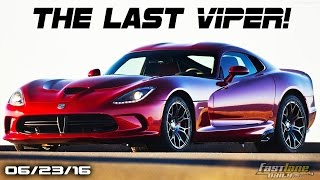 The Last Dodge Vipers, Electric Maserati, Volkswagen Cutting Models - Fast Lane Daily by Fast Lane Daily