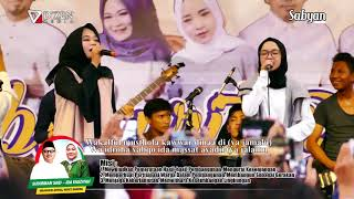 Ya Jamalu (Lirik) - Sabyan Gambus Live Semarang