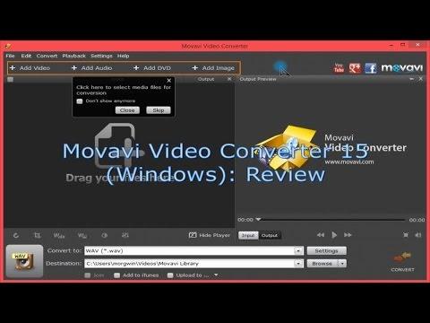Movavi Video Converter (Windows): Review