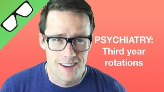 Hey guys, I'm student Doctor Thompson and in this video I will be talking about my rotation in Psychiatry, 5 things I loved, some things I didn't like, and give you two must have resources for doing well on the shelf exam, so stay tuned. First of all, what's the difference between psychiatry and psychology? In a nut shell, a psychiatrist goes to medical school and can prescribe medications, and a psychologist gets a PhD or PsyD and and can not, otherwise it is my understanding that their work can overlap to some degree. And for those of you wondering, Dr. Leo Marvin (from what about Bob) is a…. psychiatrist. So I completed a 4 week rotation in INPATIENT psychiatry and I absolutely loved it. Having never given it a second thought until now, I was pleasantly surprised with the rotation.In our hospital we had about 75 beds.   Services: Adolescent: age 12-17  These were usually young kids who have fought with suicidal ideation, self harm, or psychosis of some form Adults: Many suicidal, psychotic, substance abuse, non-compliant with medications.  Seniors: Delirium and Dementia patients from care facilities mainly  With adolescents we would do some counseling, but other than that, our role as physicians was to manage their medications. 5 things that I loved: Each provider I worked with spent time trying to convince me it was the best I literally saw patients go from CRAZY to normal in the space of a few daysPsych has the BEST hours of any rotation so far, thats why they call it the PSYCHATIONThere was a specialized scope that it was manageable to learn all meds, diagnose's, protocols, team (midlevels, nurses, counselors, case managers etc.)I could see myself really enjoying a lifestyle with GREAT HOURS, GREAT PAY, and INTERESTING PATIENTS, HIGH DEMANDThings I didn't love:Its hard not to get callousedBUT on the flip side Its also hard not to get emotionally involvedIts hard not to catch a mental illness along the wayI didn't get ANY exposure to outpatientMUST HAVE RESOURCES: Case Files for PsychiatryuWorld questions 110Other - I used another q bank (test weapon), DIT crash course vids x5, I've heard multiple people mention First aid for psychiatry clerkship but know very littleConclusion: I hope you enjoy your psych rotation as much as I did, I know a lot of people do. Don't forget the resources I mentioned and you will pass the shelf with honors, and finally: Neurotics build castles in the sky Psychotics live in them And Psychiatrists collect the rent Thanks For watching!