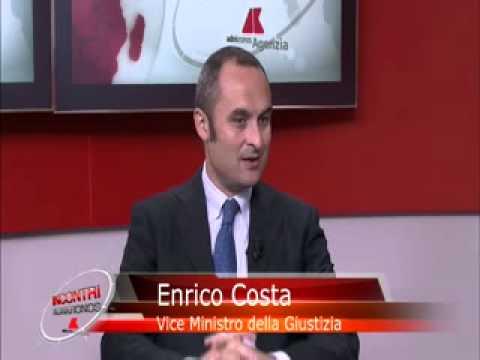 ADNKRONOS : INCONTRO CON ENRICO COSTA