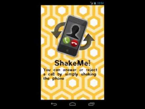Video of ShakeMe!