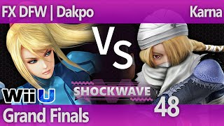 DFW's best facing off at SW48 the premier Dallas Weekly. Dakpo (ZSS) vs Karna (Sheik) – Grand Finals.