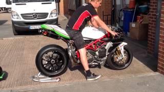 6. 1098 RS Corse race bike. A world Superbike spec racer.