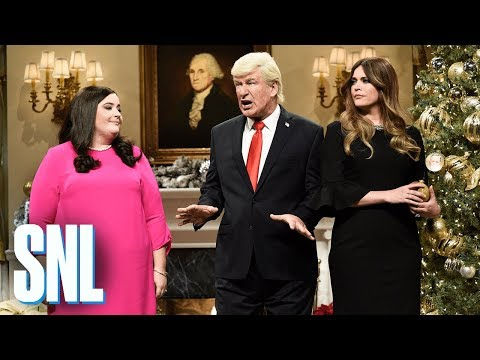 Saturday Night Live Trimming the White House Christmas