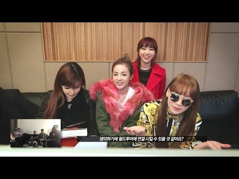 2014 2NE1 WORLD TOUR FIRST VIDEO CONFERENCE
