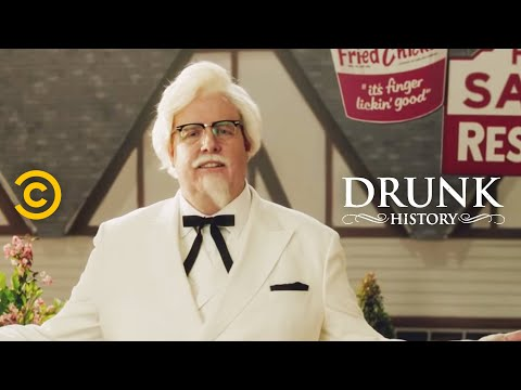 Colonel Sanders: The Origin Story (feat. Steve Agee) - Drunk History