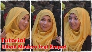 Video Cara Memakai Jilbab Segi Empat Modern