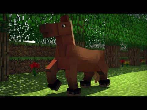 The Funky Horse! - 1 Hour Version (Minecraft Animation)