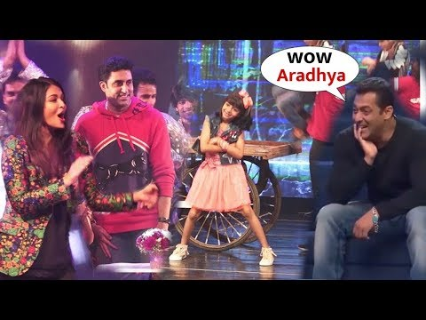 Salman Khan and Aishwarya Rai Cheer For Aaradhya Bachchan First Performance | Aaradhya Friends Party