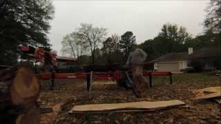 Woodmizer LT-28 Time Lapse White Oak