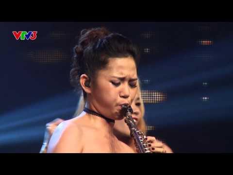Vietnam's Got Talent 2016 - Chung kết 2 - Thy Kiều saxophone