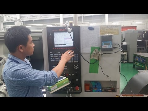 Fanuc 11M running with DNC One NET drip-feeding
