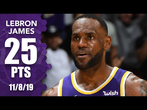 LeBron James paces the Lakers with 25 points vs. former Heat team | 2019-20 NBA Highlight