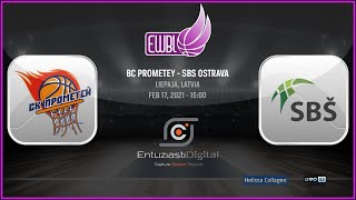 BC Prometey – SBS Ostrava – EWBL 2020/21
