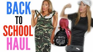 BACK TO SCHOOL HAUL by Channon Rose