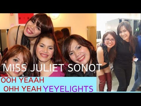 #Yeyelights/ A Night With Aegis Main Vocalist Miss Juliet Sonot