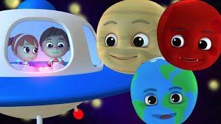 anak-anak planet lagu    Belajar tata surya   Lagu pembibitan   Rhymes For Kids   Planet Song