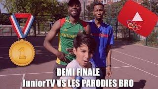 Video DEMI FINALE DES JEUX OLYMPIQUES : JuniorTV vs Les Parodies Bros MP3, 3GP, MP4, WEBM, AVI, FLV Juni 2017
