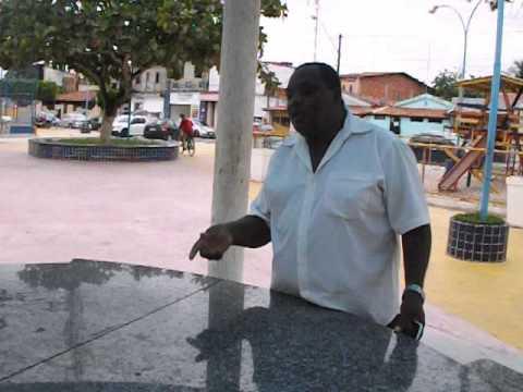 Vereador Oseas denuncias depredação da praça da palmeira em Conceição do Jacuípe