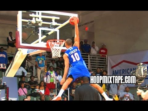 JP Tokoto Dunk Contest - Here is UNC bound J.P. Tokoto going against Auburn's Shaquille Johnson.