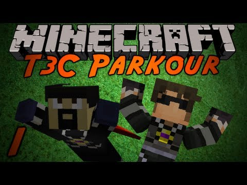 Minecraft: T3C Parkour /w Antvenom! Part 1