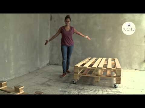 [NCTV] J'ai testé pour vous - Fabriquer un canapé avec une palette en bois