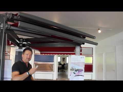 Casabox und Tendabox | Kassettenmarkisen | Produktvideos von Rollo Rieper