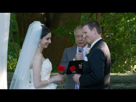 Exchanges of Rings & Vows A Wedding Ceremony At The Vaughan Estates of Sunnybrook Toronto